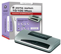 SWITCH CONCEPTRONIC 8 PUERTOS 10/100 MBPS
