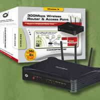 ROUTER WIRELESS CONCEPTRONIC 300MBPS