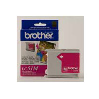 CARTUCHO BROTHER MAGENTA LC51M P/DCP / MFC