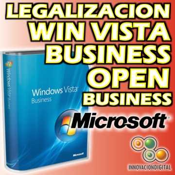 OPEN BUSINESS KIT LEGALIZACION WIN VISTA BUSINESS
