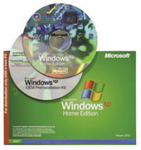 OEM WINDOWS XP HOME EDITION EN ESPA?OL 3 PACK