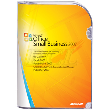 OEM OFFICE SMALL BUSINESS 3 PACK 2007 ( MLK )