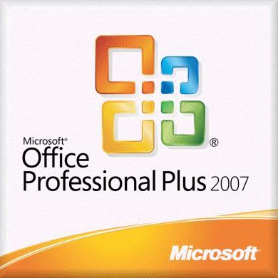 OPEN BUSINESS OFFICE PROFESSIONAL PLUS 2007