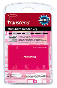 LECTOR DE MEMORIAS ALL IN ONE USB2.0ROSA TRANSCEND
